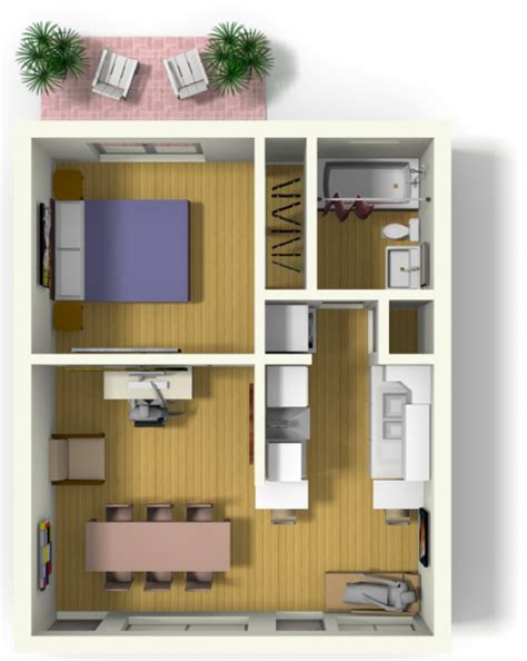small apartment plans small apartment design for live work 3d floor plan and tour