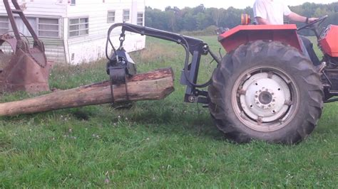 log grapple for tractor ftempo