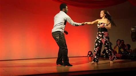 west coast swing london ekow coleen freestyle west coast swing performance at