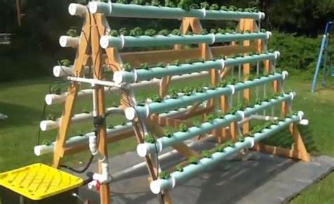 hydroponic container gardening vertical a frame hydroponic system container