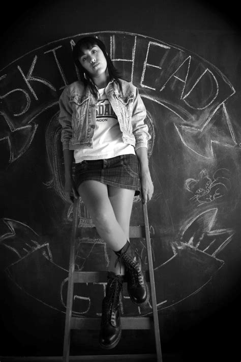 Eli Skinhead girl | Martín Roldán Ruiz | Flickr