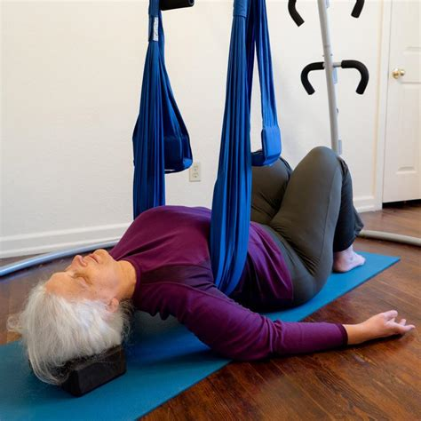 swing therapy back neck care yoga swings trapeze stands since 2001