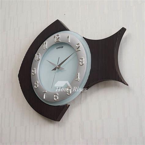 glass kitchen wall clocks unique wooden wall clock glass analog quartz personalized