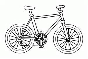 bike coloring pages bike coloring page coloring home