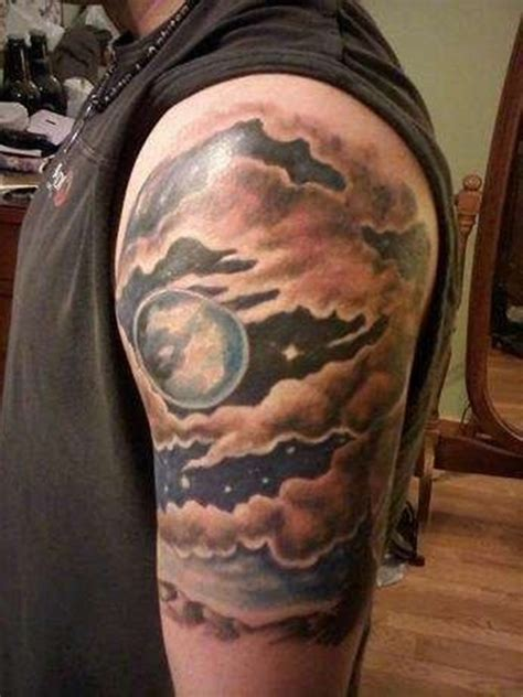 night sky tattoo designs 55 dreamy cloud to choose from