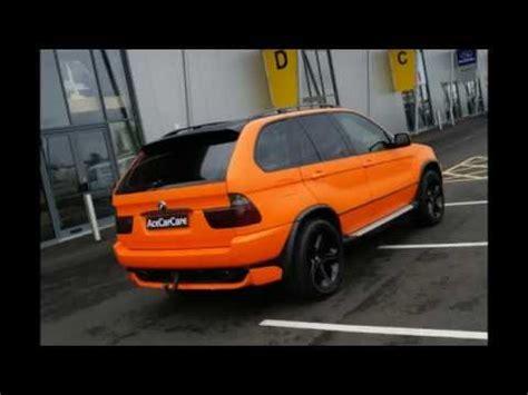 Fußmatten Auto Bmw X3 by Bmw X5 Vehicle Wrapping Matte Orange Wrap Ace Car Care