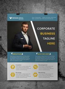 advertising flyer templates free free corporate business flyer psd template misc