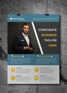 Free Template For Flyer Design by Free Corporate Business Flyer Psd Template Freebies