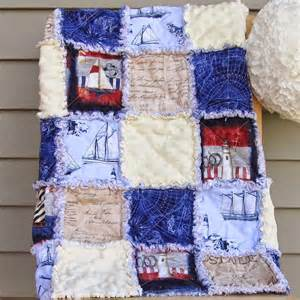 nautical adventures rag quilt pattern favequilts