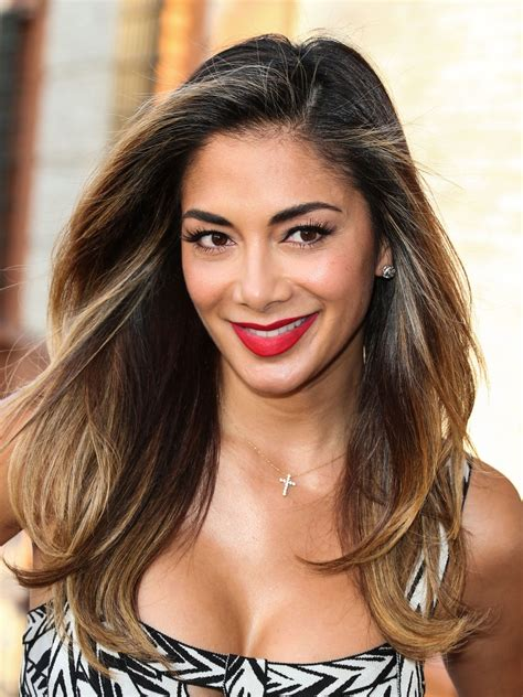 nicole hair in days nicole scherzinger debuts new boho haircut and bronde