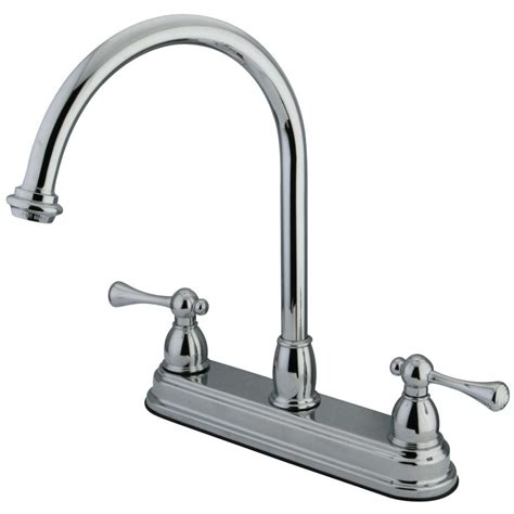 8 kitchen faucet kingston brass kb3741bl 8 inch centerset kitchen faucet