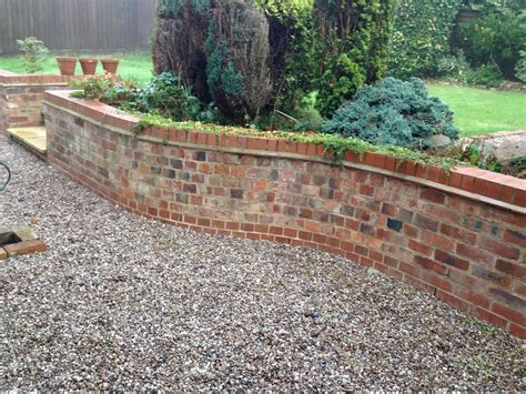 Create Building And Roofing 100 Feedback Bricklayer Reclaimed Brick Garden Walls