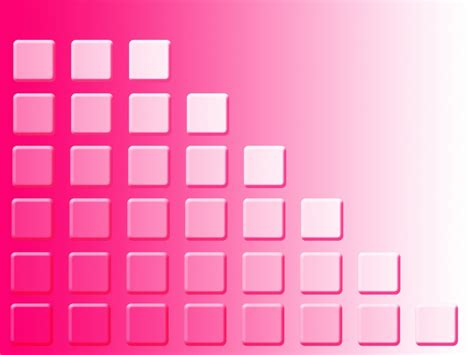 Pink Abstract Squares Powerpoint Templates Pink Abstract Squares Powerpoint Template