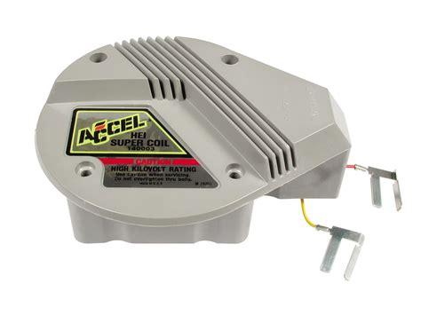 ballast resistor for accel coil accel coil gm hei coil in cap square epoxy gray 45000 v ea 140003 ebay