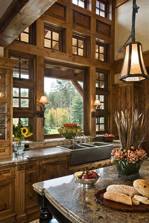 20 beautiful rustic kitchen designs interior god 25 best ideas about rustic cabin kitchens on pinterest