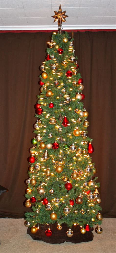 skinny christmas tree christmas tree ideas pinterest