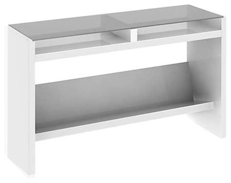 white sofa tables kathy ireland by bush new york skyline sofa table in
