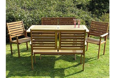wooden garden bench sets garden wooden bench set absolute home