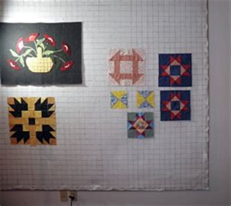 Design Walls For Quilting by A Quilt Design Wall Reflects Symmetrical Quilt Block