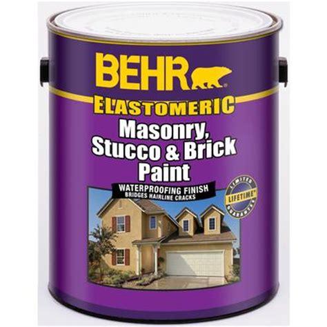 behr elastomeric masonry stucco brick paint white 3 67l home depot canada ottawa