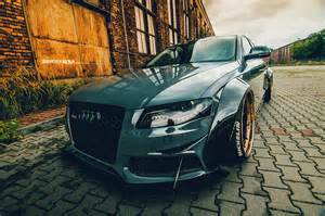 gray audi a4 widebody adv5 0 track function cs series