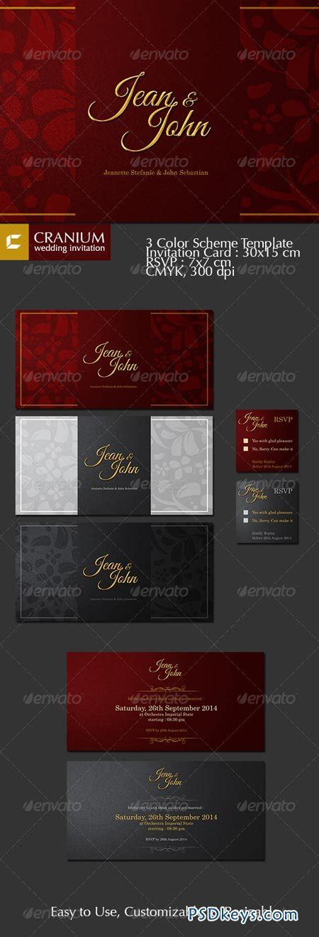 cranium card template cranium wedding invitation 6949687 187 free