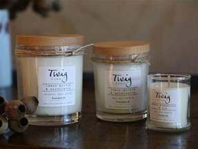 Soy Wax Candles Twig Made Soy Wax Candle 40 Hour Burn Time