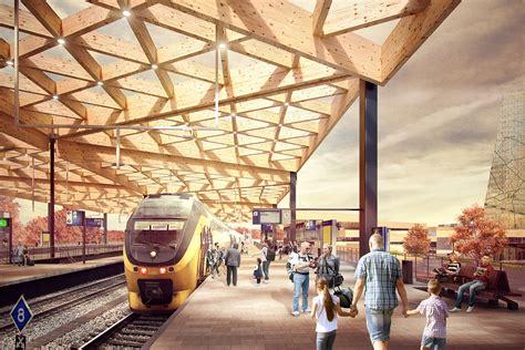 ede wageningen train station architect magazine