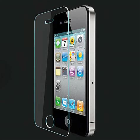 Tempered Glass Apple 4 Non Packing 5 pack screen protector iphone 4 tempered glass stuff enough