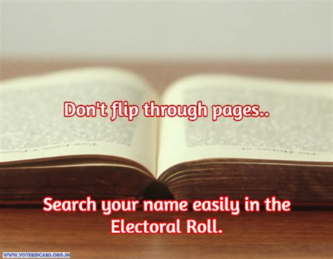 Free Finder Electoral Roll Search Your Name In The Electoral Roll Voter List