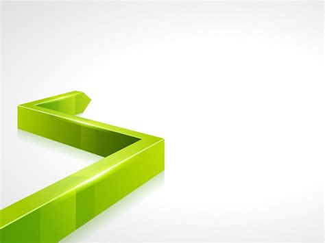 3d Green Line Powerpoint Backgrounds 3d Green Grey White Ppt Backgrounds 3d Powerpoint Templates