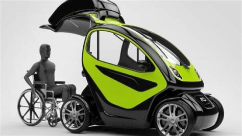 Drivers With Disabilities Fuel Section by Equal Innovative Ev Is Specially Designed For Disabled