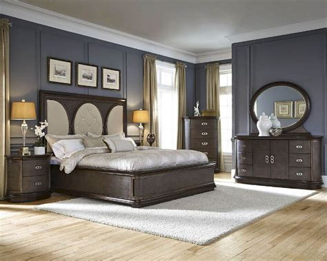 Najarian Bedroom Furniture Najarian Bedroom Set W Panel Bed Obsessions Na Ob3set
