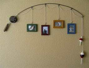 Fishing Decor For Homes by Fishing Rod Decor Crafts Pinterest