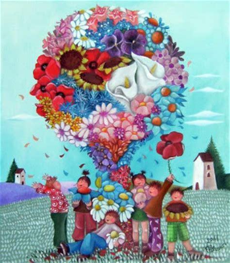 alessandra fiori dal cielo in su l albero di fiori