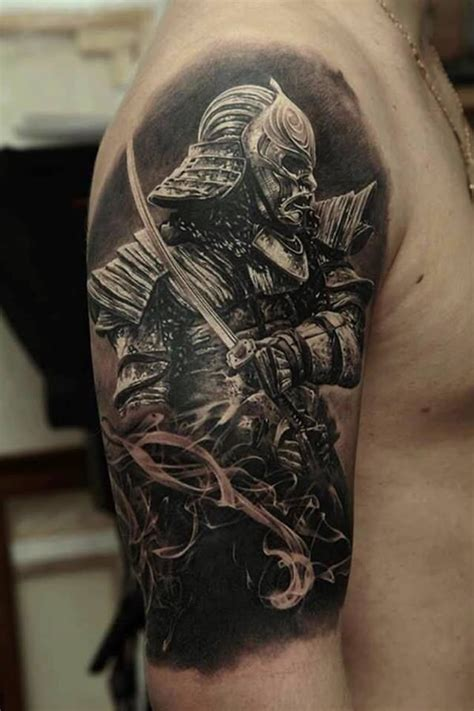 65 shogun inspired samurai tattoos pictures