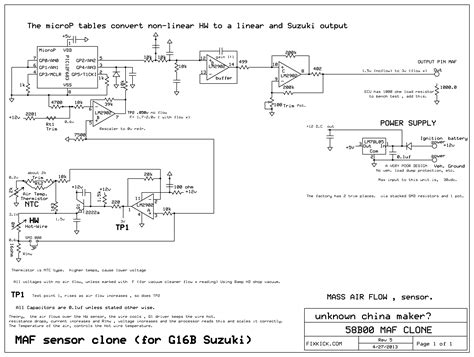 bosch maf sensor wiring diagram manual 28 images maf