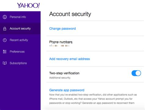 yahoo email verification code how to protect your yahoo account with two step verification