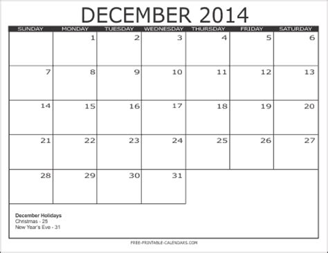 blank december 2014 calendar template search results for december 2014 blank calendar template