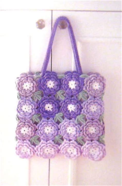 flower pattern bags borders stitches and motifs crochet kingdom 631 free