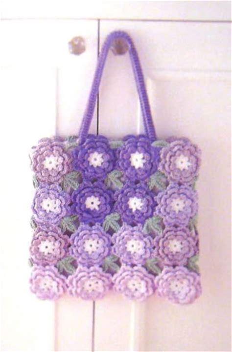 flower pattern bags crochet flower bag pattern crochet kingdom