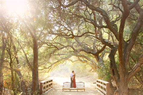 wedding photo shoot locations los angeles woodsy engagement photos brilane daniel