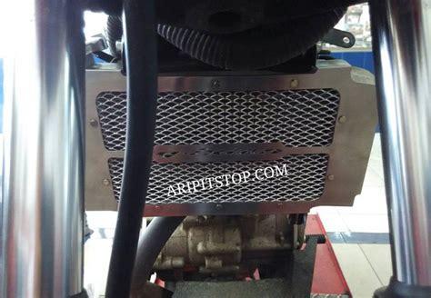 Pelindung Radiator rapi dan hemat begini penakan pelindung radiator dari kawat nyamuk aripitstop