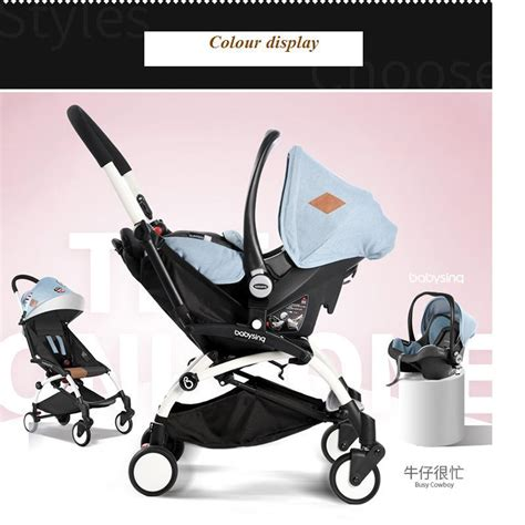 foldable car seat for 1 year 2016 new design luxury baby stroller foldable baby cart