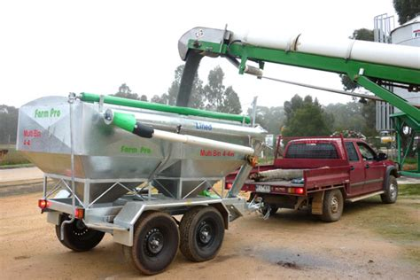 Tas Motor Vehicle St Duty trail grain feeder grouper multi bin machinery equipment