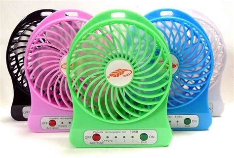 Kipas Angin Air Embun Usb Rechargeable Mini Fan Portable A29 f95b portable fan rechargeable batt end 8 12 2019 11 15 am