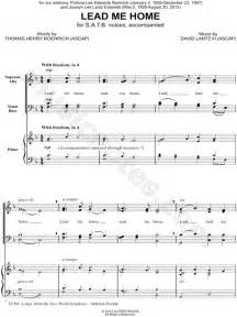 david lantz iii quot lead me home quot satb choir piano choral