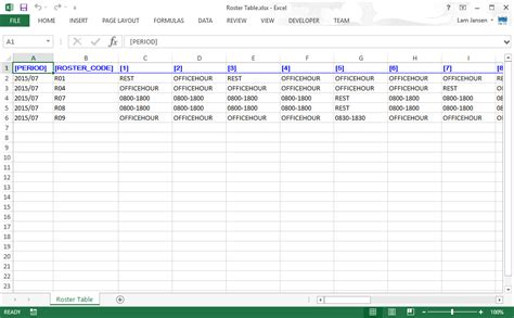 sle of xls file user guide for excel user guide for excel sle roster excel file for import