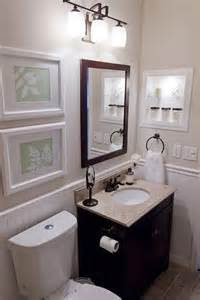 Small Guest Bathroom Decorating Ideas Black Cream Amp White Small Bathroom Decorating Samples I