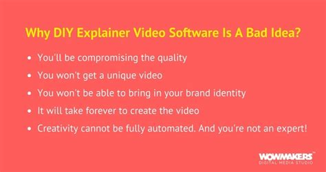 diy explainer why you shouldn t use diy explainer tools the 5 cons